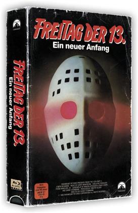 Freitag der 13. - Teil 5 - Ein neuer Anfang (1985) (VHS Retro Edition, VHS Box, Limited Edition, Blu-ray + DVD)