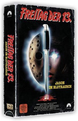 Freitag der 13. - Teil 7 - Jason im Blutrausch (1988) (VHS Retro Edition, VHS Box, Limited Edition, Blu-ray + DVD)