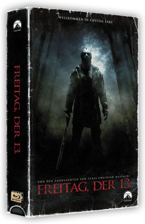 Freitag, der 13. (2009) (VHS Retro Edition, Killer Cut, VHS Box, Limited Edition, Blu-ray + DVD)