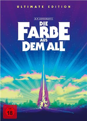 Die Farbe aus dem All (2019) (Limited Ultimate Edition, 4K Ultra HD + 5 Blu-rays + CD)