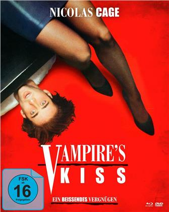 Vampire's Kiss - Ein beissendes Vergnügen (1988) (Mediabook, Blu-ray + DVD)