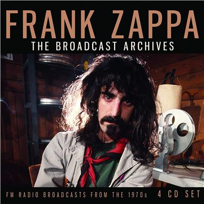 Frank Zappa - The Broadcast Archives (4 CDs)