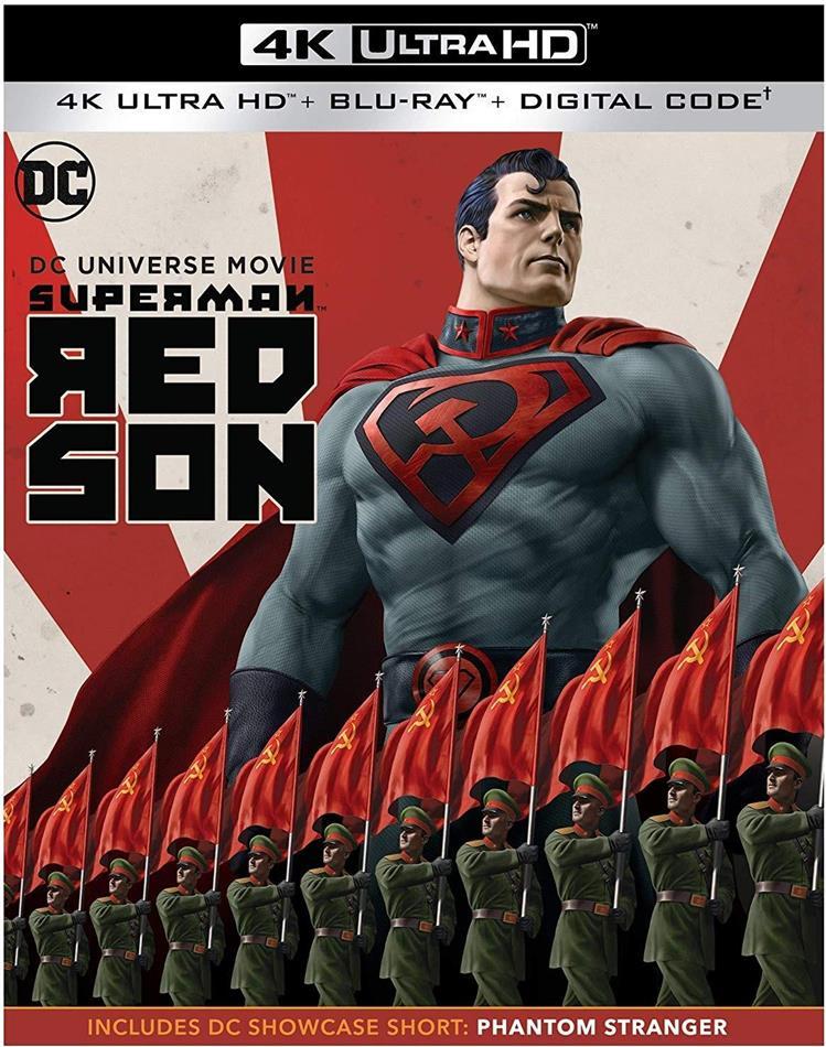 Superman - Red Son (2020) (4K Ultra HD + Blu-ray)