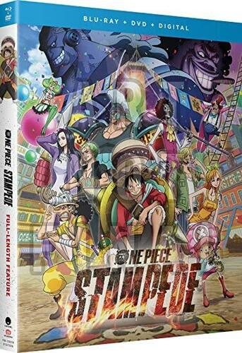 One Piece - Stampede (2019) (Blu-ray + DVD)