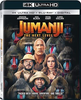 Jumanji 2 - Next Level (2019) (4K Ultra HD + Blu-ray)