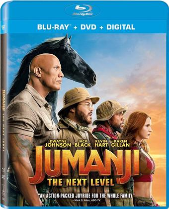 Jumanji 2 - Next Level (2019) (Blu-ray + DVD)