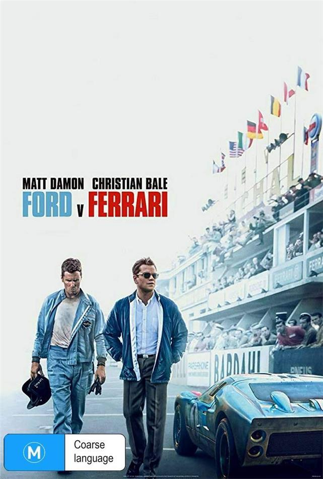Ford v Ferrari (2019) (Ultimate Collector's Edition, 4K Ultra HD + Blu-ray)