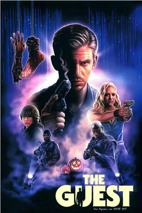 The Guest (2014) (Grosse Hartbox, Limited Edition)