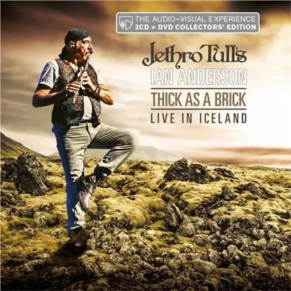 Ian Anderson (Jethro Tull) - Thick As A Brick - Live In Iceland (2020 Reissue, 2 CDs + DVD)