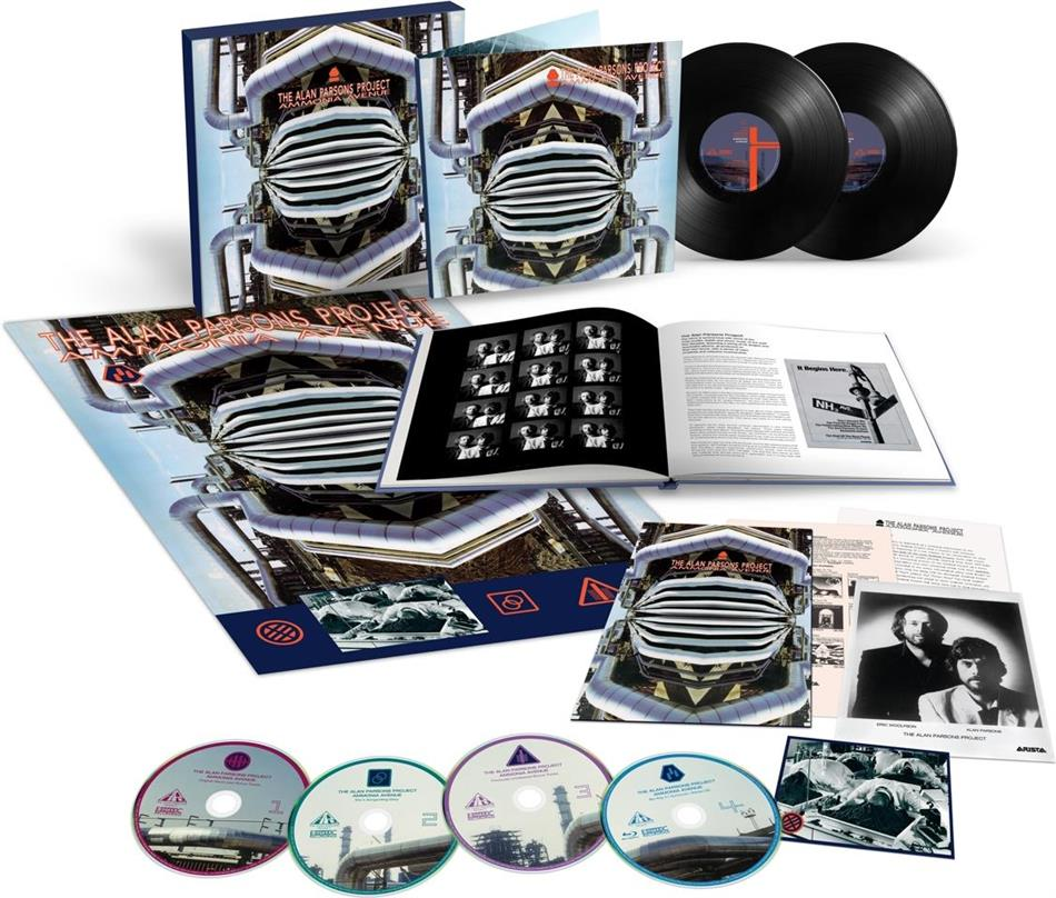 "The Alan Parsons Project - Ammonia Avenue (Boxset, Deluxe Edition, Limited Edition, 4 CDs + 12"" Maxi + Blu-ray)"