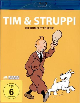 Tim & Struppi - Die komplette TV-Serie (4 Blu-rays)