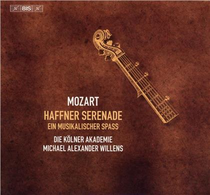 Kolner Akademie, Wolfgang Amadeus Mozart (1756-1791) & Michael Alexander Willens - Haffner Serenade (Hybrid SACD)