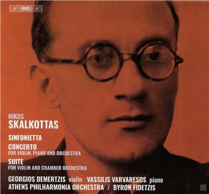Nikos Skalkottas, Byron Fidetzis, Georgios Demertzis, Vassilis Varvaresos & Athens Philharmonia Orchestra - Sinfonietta, Concerto & Suite (Hybrid SACD)