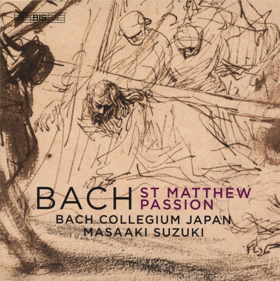 Bach Collegium Japan, Johann Sebastian Bach (1685-1750) & Masaaki Suzuki - St Matthew Passion 244 - Matthäuspassion (Hybrid SACD)
