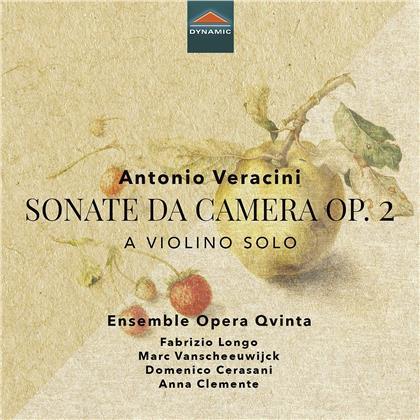 Ensemble Opera Qvinta & Antonio Veracini (1659-1733) - Sonate Da Camera A Violino Solo