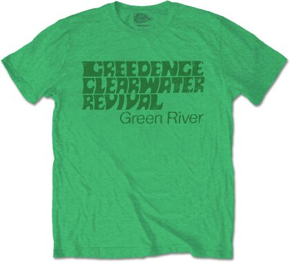 Creedence Clearwater Revival Unisex Tee - Green River