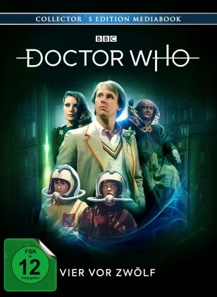 Doctor Who - Vier vor Zwölf (Collector's Edition, Mediabook, Blu-ray + 2 DVDs)