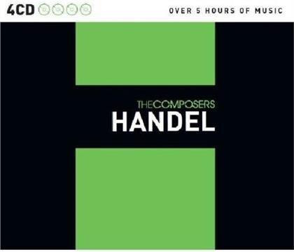 Georg Friedrich Händel (1685-1759) - The Composers (4 CDs)
