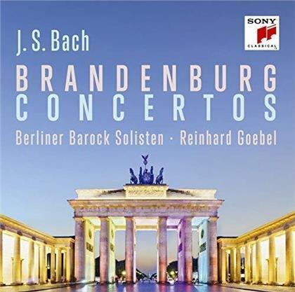Johann Sebastian Bach (1685-1750), Reinhard Goebel & Berliner Barock Solisten - Brandenburg Concertos - Brandenburger Konzerte (Japan Edition)