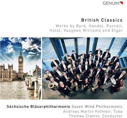 William Byrd (1543-1623), Georg Friedrich Händel (1685-1759), Henry Purcell (1659-1695), Gustav Holst (1874-1934), Ralph Vaughan Williams (1872-1958), … - British Classics