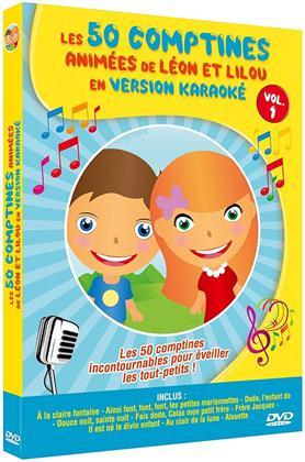 Les 50 comptines animées de Léon et Lilou en version Karaoké - Vol. 1