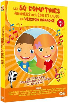 Les 50 comptines animées de Léon et Lilou en version Karaoké - Vol. 2