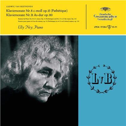 Ludwig van Beethoven (1770-1827) & Elly Ney - Piano Sonatas Nos 8, 13, 31 (2 LPs)