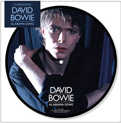 """David Bowie - Alabama Song (Picture Disc, 7"""" Single)"""