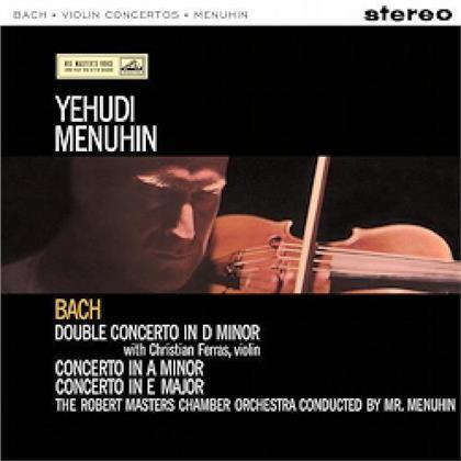 J.S. Bach & Johann Sebastian Bach (1685-1750) - Violin Concertos: Double Concerto in D Minor, In A Minor & E Minor (LP)
