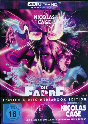 Die Farbe aus dem All - Color Out of Space (2019) (Cover B, Mediabook, 4K Ultra HD + 2 Blu-rays)