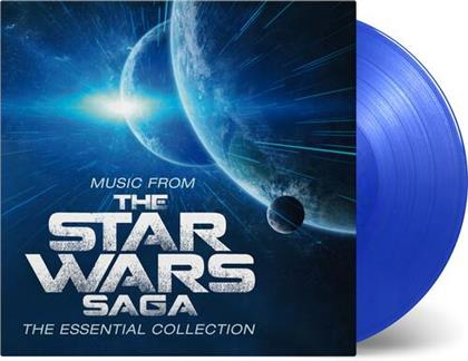 Robert Ziegler - Music From The Star Wars Saga - OST (2020 Reissue, Music On Vinyl, Limited Edition, Blue Vinyl, 2 LPs)