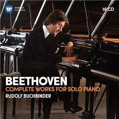 Ludwig van Beethoven (1770-1827) & Rudolf Buchbinder - Complete Works For Solo Piano (16 CDs)