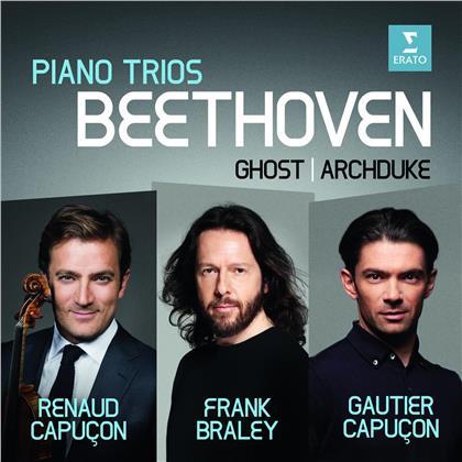 Renaud Capucon, Gautier Capucon, Frank Braley & Ludwig van Beethoven (1770-1827) - Klaviertrios Nr. 5 & 7