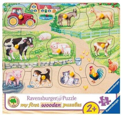 Morgens auf dem Bauernhof (Kinderpuzzle)