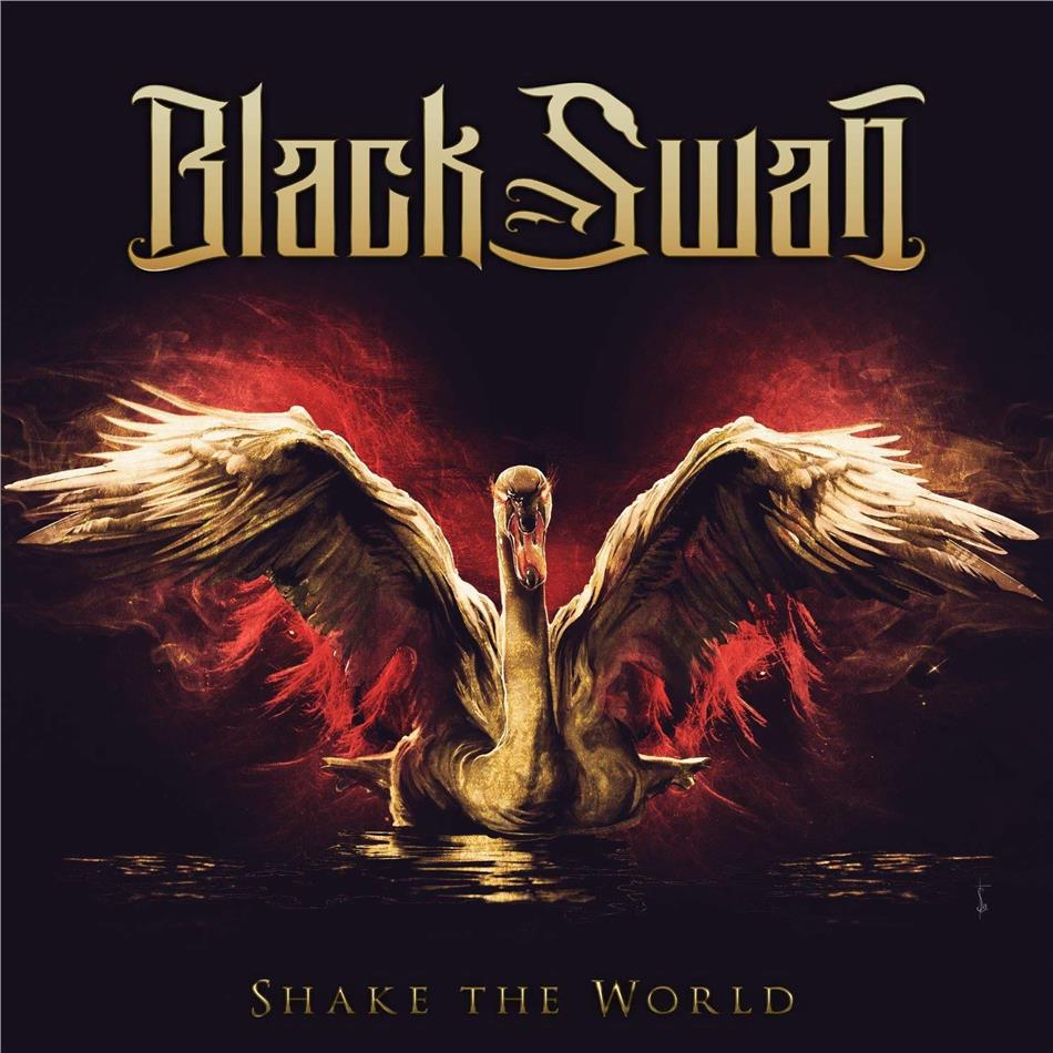 Black Swan (Robin McAuley/Jeff Pilson/Reb Beach/Matt Starr) - Shake The World (Japan Edition)