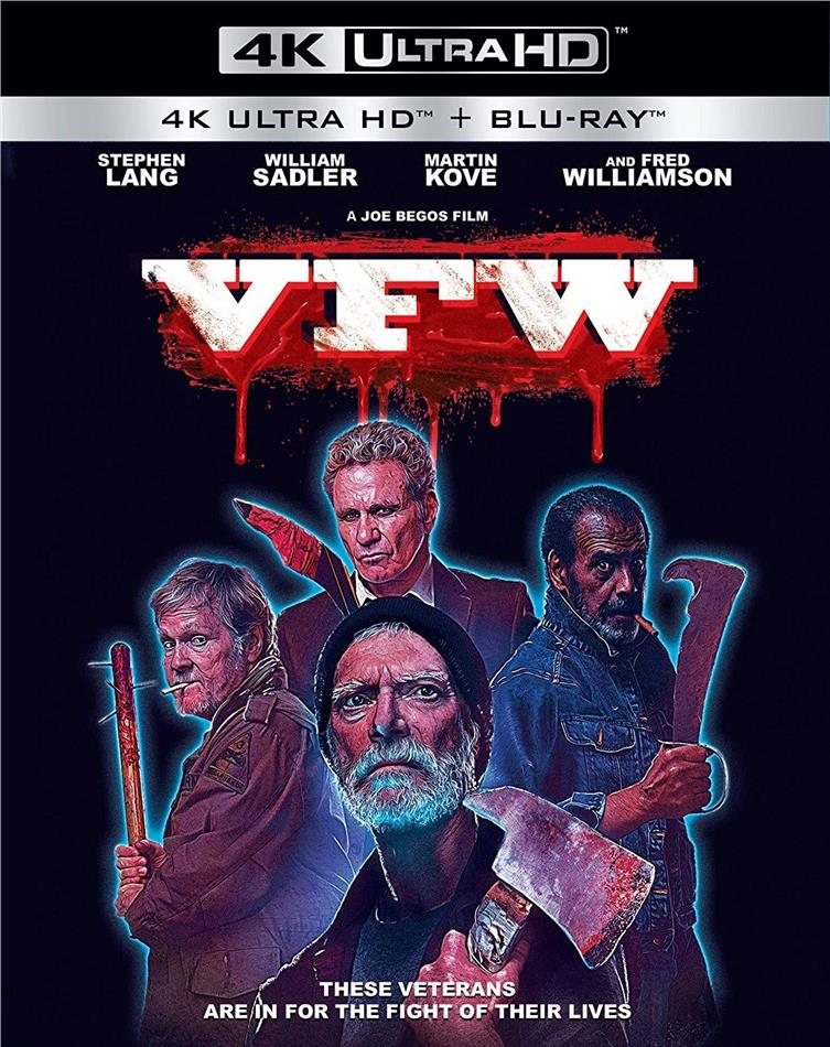 VFW (2019) (4K Ultra HD + Blu-ray)