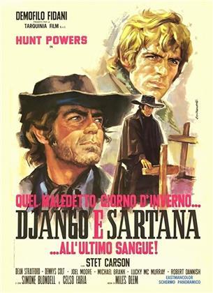Quel maledetto giorno d'inverno... - Django e Sartana all'ultimo sangue (1970) (Neuauflage)