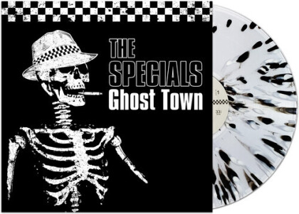 The Specials - Ghost Town (2020 Reissue, Cleopatra, Special Limited Edition, Splatter Vinyl, LP)