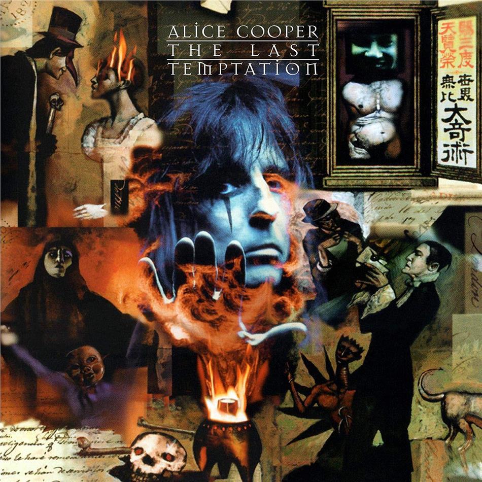 Alice Cooper - Last Temptation (Gatefold, Audiophile, 2020 Reissue, Friday Music, Blue Vinyl, LP)