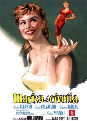 Marisa la civetta (1957) (s/w, Neuauflage)
