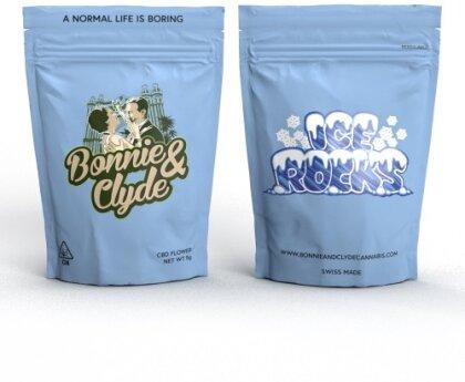 Bonnie & Clyde Ice Rocks (10g) - (19% CBD 0.8% THC)