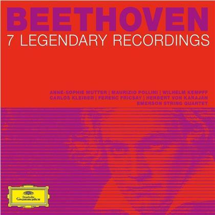 Carlos Kleiber, Ferenc Fricsay, Herbert von Karajan, Anne-Sophie Mutter, Maurizio Pollini, … - 7 Legendary Albums (7 CDs)