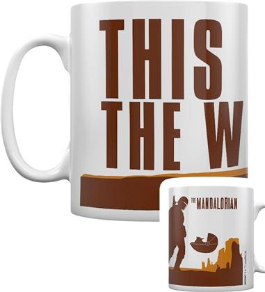 Star Wars: The Mandalorian - This Is The Way - Coffee Mug