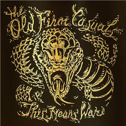 The Old Firm Casuals - This Means War (Snake Edition, Gold Vinyl, LP)