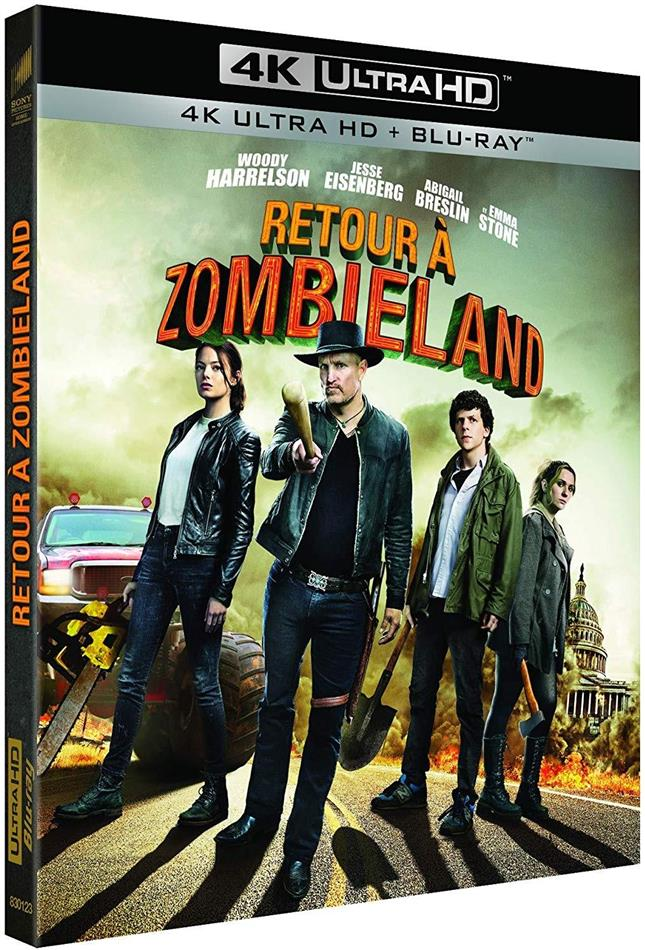 Retour à Zombieland - Zombieland 2 (2019) (4K Ultra HD + Blu-ray)