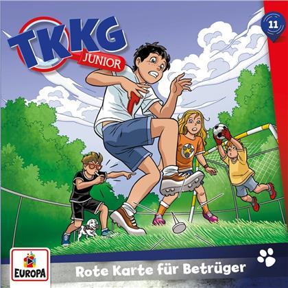 TKKG Junior - 011/Rote Karte für Betrüger