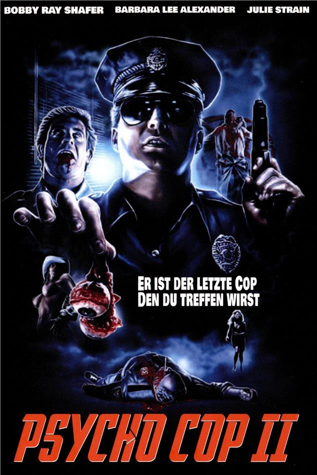 Psycho Cop 2 (1993) (Grosse Hartbox, Limited Edition, Uncut)