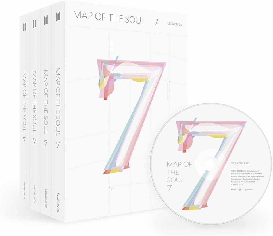 BTS (Bangtan Boys) (K-Pop) - MAP OF THE SOUL: 7 (+ Photobook, + Lyricbook, +Minibook)