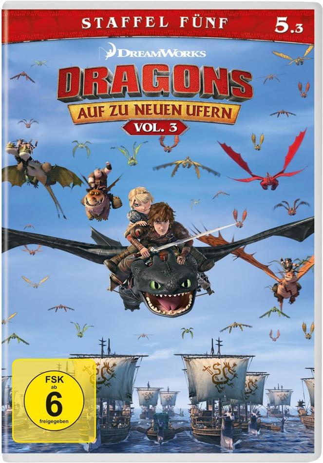 Dragons - Auf zu neuen Ufern - Staffel 5 - Vol. 3
