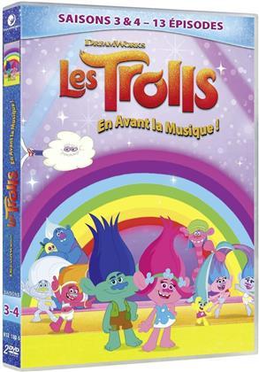 Les Trolls - En avant la musique! - Saisons 3 & 4 (2 DVDs)